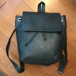 24 HR SALE ⚡️LF olive leather bucket backpack